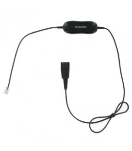 Jabra GN1200 Smart Cord 0.5m Dritto